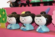 Modern Japanese dolls Royalty Free Stock Image