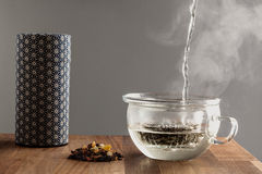 Modern japanese tea making set Stock Photo
