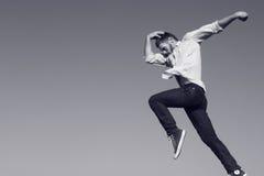 Modern jazz jump. Stock Photo