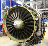 Modern jet engine Royalty Free Stock Photos