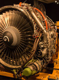 Modern Jet Engine Stock Photography