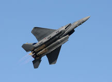 Modern jetfighter Stock Photography