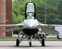 Modern jetfighter Royalty Free Stock Images