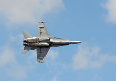 Modern jetfighter. Modern fighter jet used by the US Navy Royalty Free Stock Photos