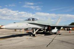 Modern jetfighter Royalty Free Stock Photo