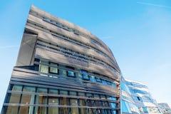 Modern Kö-Bogen in Düsseldorf, Germany Royalty Free Stock Images