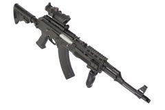 Modern Kalashnikov AK47 Royaltyfria Bilder