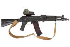 Modern kalashnikov rifle Stock Images