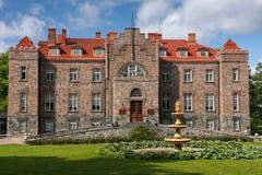 Modern Kalvi castle, Estonia. Kalvi castle in the north region of Estonia Stock Photos