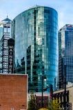 Modern Kansas City arkitektur som är gammal och Arkivfoto
