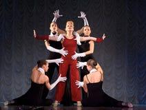 modern kapacitet för dans Royaltyfri Foto