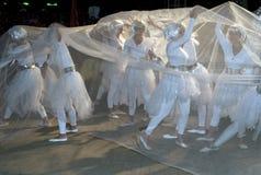 modern karnevaldans Arkivbild