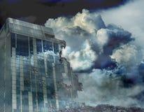 modern katastrof Arkivfoto