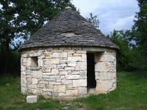 Modern kazun in Istria, Croatia royalty free stock photo