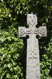 Modern Keltisch knotworkkruis Stock Fotografie