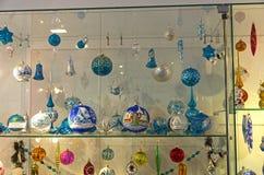 Modern Kerstmisspeelgoed Royalty-vrije Stock Afbeelding