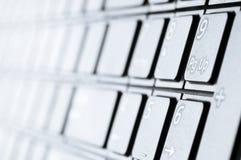 Modern keyboard Royalty Free Stock Photos