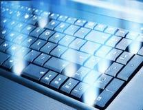 Modern keyboard Stock Photos