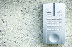Modern keypad. Closeup of a modern keypad Stock Photography