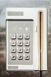 Modern keypad Royalty Free Stock Image