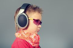 Modern kid Royalty Free Stock Images