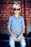 Modern kid Royalty Free Stock Photos