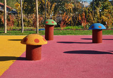 Modern kids playground Royalty Free Stock Image