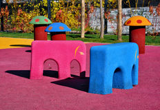 Modern kids playground Royalty Free Stock Photos