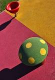 Modern kids playground Stock Photo