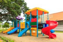 Modern kids toy playground Stock Photo