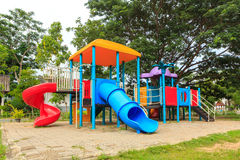 Modern kids toy playground Stock Photography