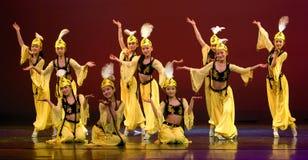 modern kinesisk dans Royaltyfria Bilder