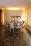 Modern kitchen. In luxury apartment stock image