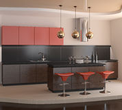 Modern kitchen. Stock Images