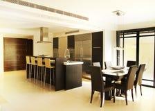 Modern Kitchen Royalty Free Stock Photo