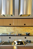 Modern kitchen. This is a modern and beautiful kitchen Stock Photo