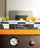 Modern kitchen Stock Image