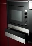Modern kitchen. Modern contemporary kitchen and kitchen equipments Royalty Free Stock Photos