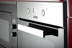 Modern kitchen. Modern contemporary kitchen and kitchen equipments Stock Images