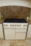 Modern kitchen cooker Stock Image