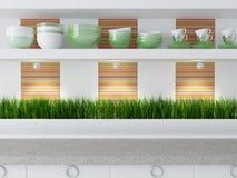 Modern kitchen design. Stock Photography