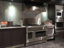 Modern kitchen design Royalty Free Stock Photos