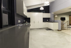 Modern kitchen design Stock Image