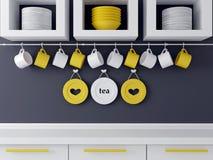 Modern kitchen design. Stock Images