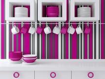 Modern kitchen design. Stock Image