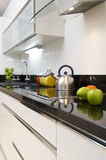 Modern kitchen detail Royalty Free Stock Photos