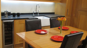 Modern kitchen. Royalty Free Stock Photos
