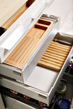 Modern kitchen drawers Royalty Free Stock Image