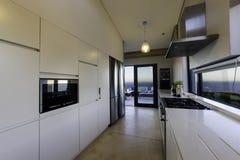 Modern kitchen gas stove Royalty Free Stock Photo