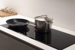 Modern Kitchen Hob Stock Photos